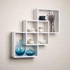 wall mounted contemporary shelving