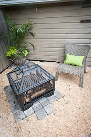 Furniture Enjoy Your Backyard With Perfect Picnic Tables Lowes by Backyard Makeover With Lowes We Added A Paver And Pea Gravel
