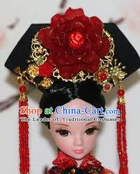 hair decorations traditional qing empress headpiece princess headdress