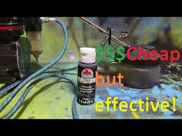 make your own air brush paint for 54 cents easy to make youtube