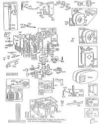 briggs and stratton 193702 0309 01 parts diagram for cyl sump