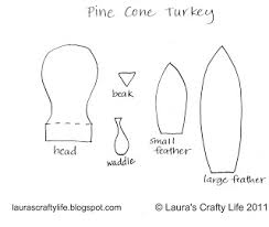 6 best images of waddler turkey pattern printable template