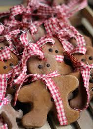 where your treasure is cinnamon salt dough ornaments food