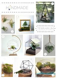 handmade terrariums emily henderson