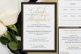 fancy wedding invitations caleigh formal wedding invitation with glitter all that