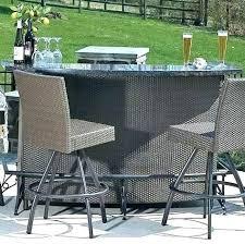 outdoor patio bar furniture tiki bar sets patio elegant outdoor