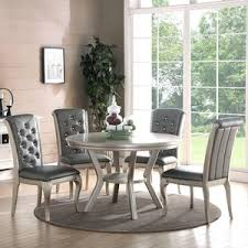silver dining sets birch lane