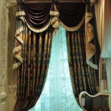Brown And Green Curtains Designs Room Darkening Window Curtains In Beautiful Green Color