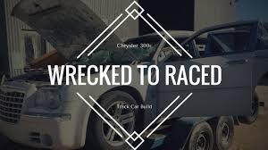 chrysler 300 race car build video 540bhp cage 6sp test drive