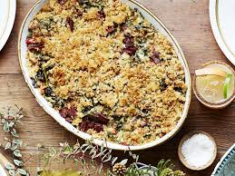 Fabulous Dinner Ideas Thanksgiving Baked Kale Grating Food Easy Side Dishes Recipes
