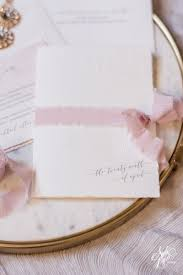 wedding place cards etiquette kim jp u0027s embossed blush watercolor wedding invitation suite