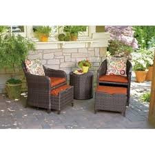 Patio Chair With Ottoman Best 25 Target Patio Furniture Ideas On Pinterest Target