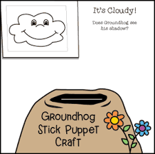 groundhog crafts