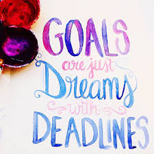 quote goals are dreams with deadlines typography u0026 design u2014 firefly lights design