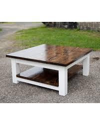farmhouse coffee table set memorial day sale square coffee table solid wood farmhouse coffee