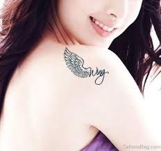 84 amazing wings shoulder tattoos