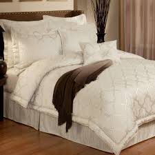 pearl quatrefoil trellis comforter bedding