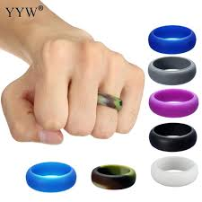 Plastic Wedding Rings by Online Get Cheap Silicone Wedding Bands Aliexpress Com Alibaba