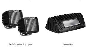 aftermarket lights for trucks truck accessory led fog and scene lighting added to heavy duty