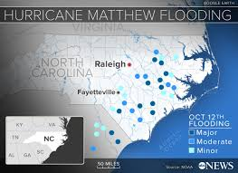 Charleston Flood Map North Carolinians Urged To Stay Away From Water As Rising Rivers