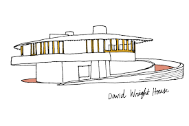david wright architect an illustrated guide to frank lloyd wright curbed