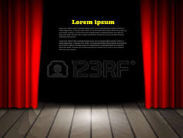 Theater Drop Curtain 1 097 Drop The Curtain Stock Vector Illustration And Royalty Free