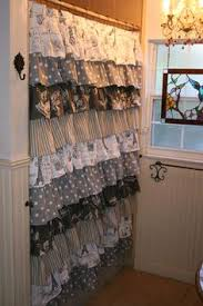 Ruffled Shower Curtains Ruffle Shower Curtain Diy Arts And Crafts Pinterest More