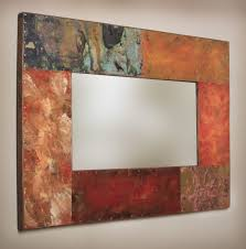 Mirror Frames Custom Made Copper And Metal Mirror Frames By Paul Rung Studio