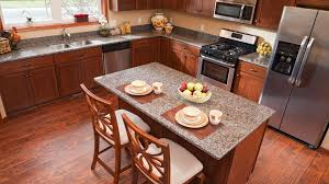 best flooring for honey oak kitchen cabinets laminate flooring in the kitchen