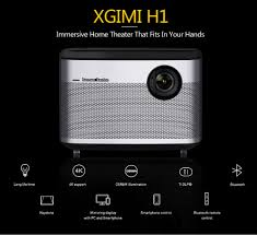home theater 4k projector xgimi h1 smart home theater 4k 300 inch 3d smart projector livetv