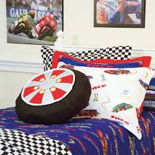 Speedy Racecar Cars Bunk Bed Hugger Comforter Bedding For Bunks - Race car bunk bed