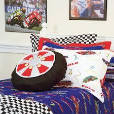 Race Car Bunk Beds Speedy Racecar Cars Bunk Bed Hugger Comforter Bedding For Bunks