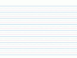 templates for handwriting four line pages for handwriting handwriting paper template first
