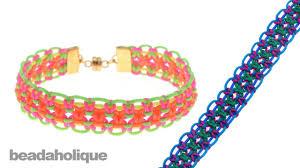 bracelet youtube images How to make a knotting cord macrame bracelet jpg