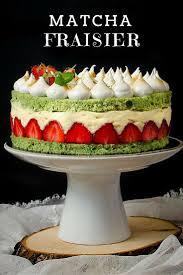 matcha fraisier recipe matcha cake and sweet tooth