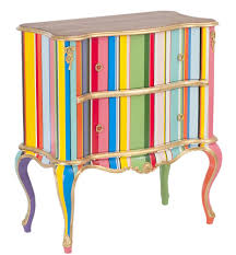 Bright Furniture Colors Give New Life To Old Furniture With Paint