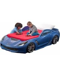 Toddler To Twin Convertible Bed Deals On Step2 Corvette Z06 Convertible Toddler To Twin Bed With