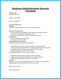 Sample Resume For Business by Resume Template Business Administration Augustais