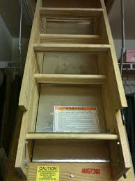 folding attic stairs attic pull down stairs perfect for little