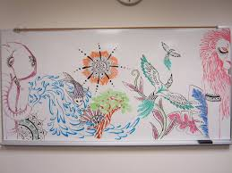 1000 things to do when bored 51 draw a mural on a whiteboard