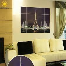 home decor wall sticker 3d eiffel tower jigsaw wall sticker wall sticker tac city goods co
