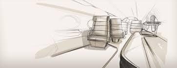 porsche cartoon drawing chair concept by studio f a porsche inairvation