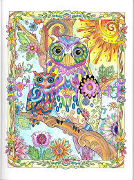 115 best creative haven owls images on pinterest coloring books