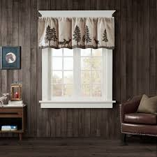 woolrich tree faux suede valance ebay