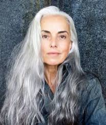 30 awesome long gray hairstyles for women over 50 lucky bella