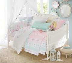 bailey ruffle quilted bedding pottery barn kids kendle sherwin