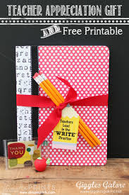 appreciation gift and free teachers lead in the write