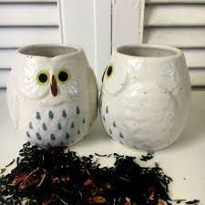 japanese tea set cute owl teapot with matching cups tea pot