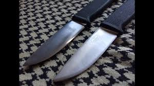fällkniven f1 pilot survival knife clone vs original youtube