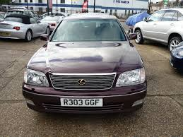 lexus burgundy used 1998 lexus ls 400 4 0 4dr for sale in middlesex pistonheads